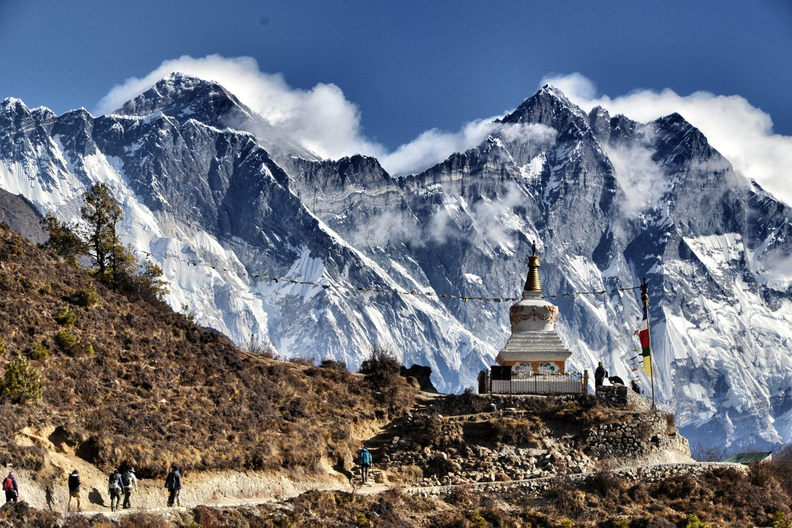 A temple on the Everest Base Camp