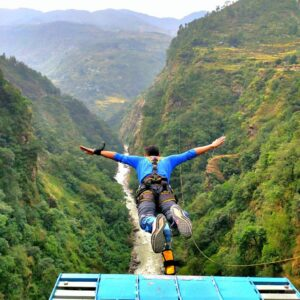 Bungee jump at The Last Resort