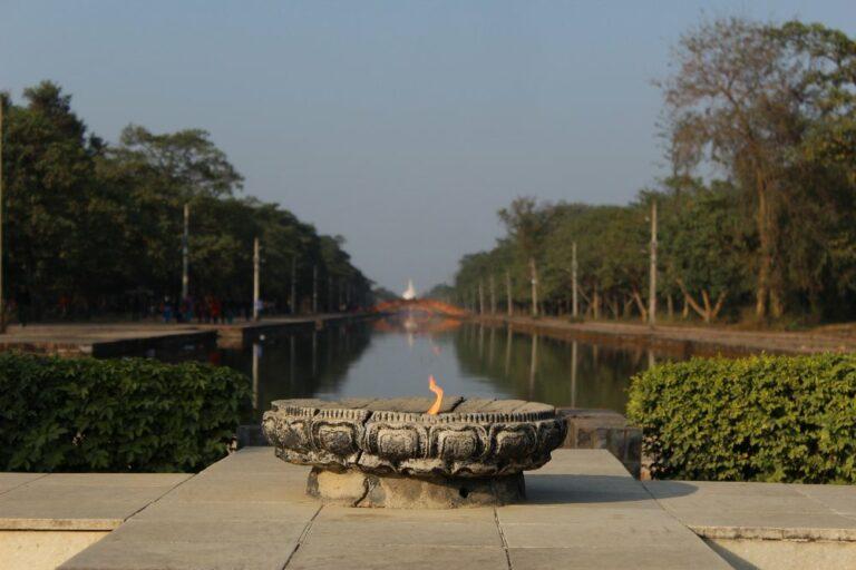Lumbini peace flame