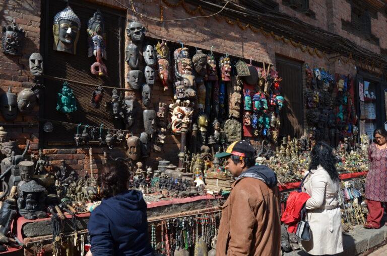 Souvenir Shop in Nepal