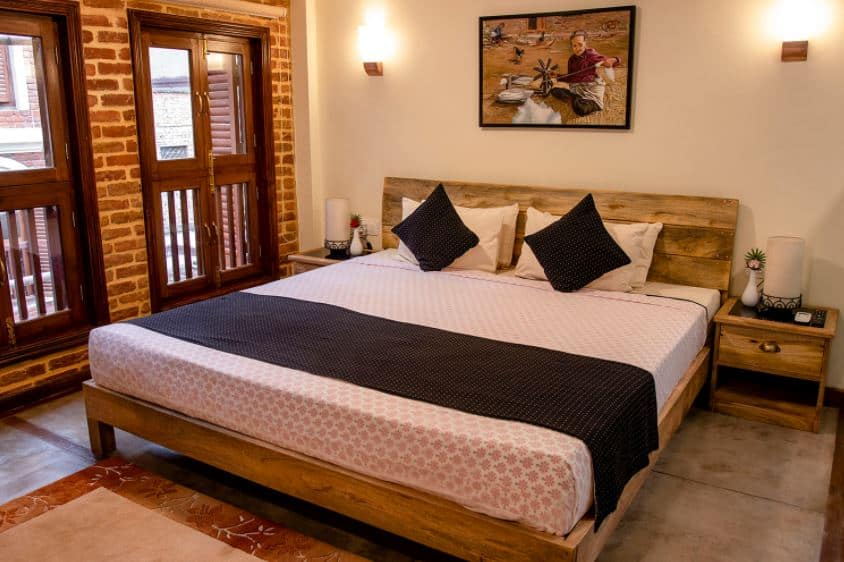 Traditional Stay bedroom