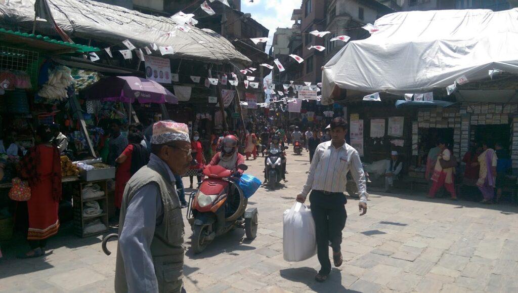 Kathmandu daily life
