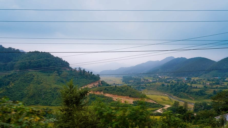 Views across the Kathmandu Valley
