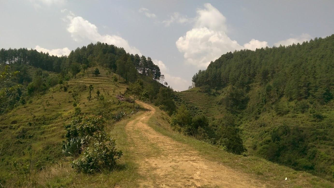Green Hills in Kathmandu Valley