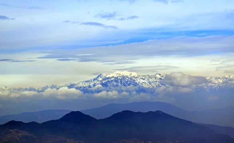 Kathmandu Valley Himalayan views