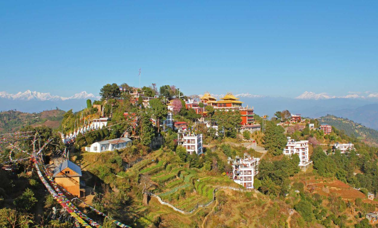 View of Panauti
