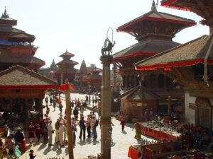 Temples in Kathmandu Durbar Square