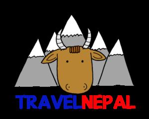 Travel Nepal colour logo, by Tigerfluff